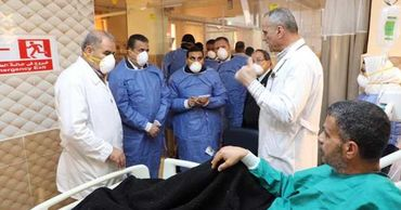 В Египте предрекли крах системы здравоохранения, если медики не получат защиту от COVID-19.