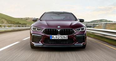 BMW представила новый седан M8 Gran Coupe