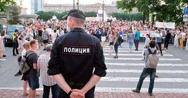 Дневное шествие в поддержку Фургала в Хабаровске впервые не состоялось.