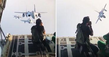 Фотограф показал, какой ценой ему даются лучшие кадры для ВВС Саудовской Аравии.