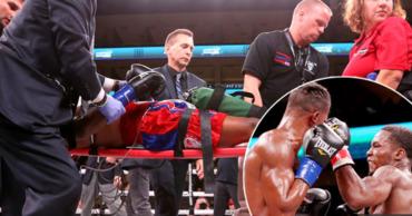 Известный боксер впал в кому после нокаута.