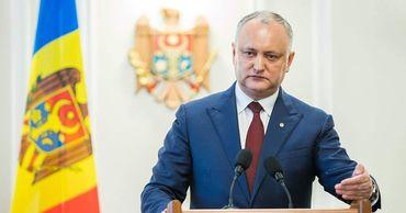 Президент Молдовы Игорь Додон.
