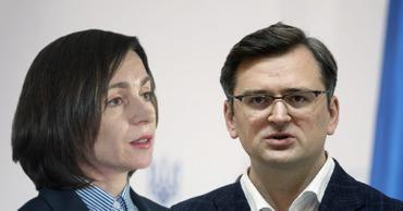 МИД Украины выразил поддержку президенту Молдовы в ситуации с КС. Коллаж: Point.md.