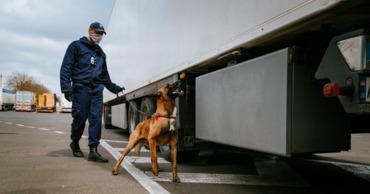 Молдавские пограничники конфисковали две партии контрабандных товаров.