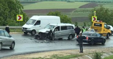 Четыре человека пострадали в результате аварии в Оргеевском районе.