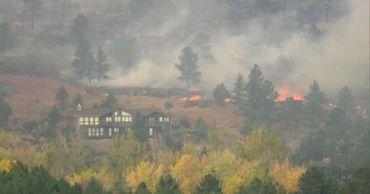 В Колорадо зафиксирован крупнейший пожар в истории наблюдений.