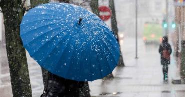 8 января на юге страны выпадут осадки в виде дождя со снегом. Ветер западный, слабый до умеренного.