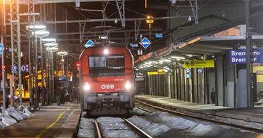 Австрия временно закрывала движение поездов из Италии.