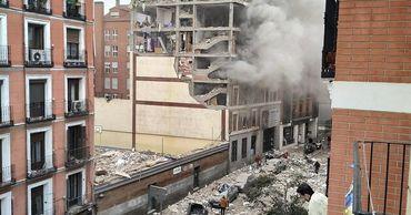 В Мадриде снесут верхние этажи здания, в котором произошел взрыв.