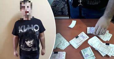 На АЗС мужчина украл из забытого клиентом кошелька почти 26 тысяч леев. Фото: Point.md.