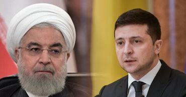 Роухани написал письмо Зеленскому в связи с авиакатастрофой в Иране