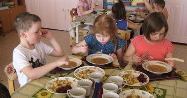 Мэрия Унген потратила на еду для детсадов на 1,3 млн меньше запланированного.