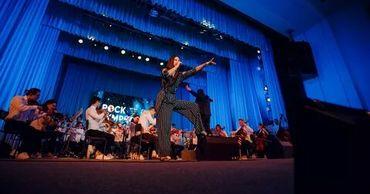 В Тирасполе прошел грандиозный концерт «Рок Симфония».