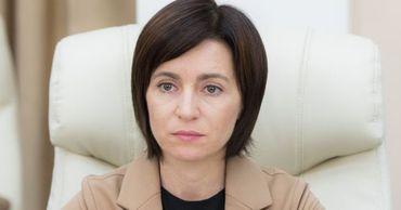 Председатель Партии действия и солидарности (PAS) Майя Санду.