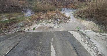 Река Бык находится в ужасном состоянии из-за незаконных сбросов.
