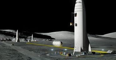 Эксперты: Маск зря надеется заправить корабль на Луне.