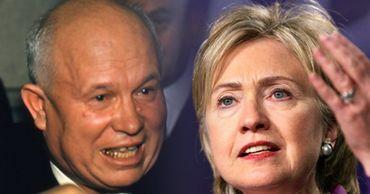 Клинтон опубликовала пародийное письмо Хрущеву в стиле Трампа.
