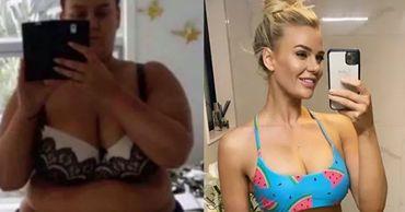 Похудевшая на 92 килограмма блогерша поделилась секретом успеха.