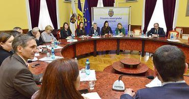 Ион Чебан встретился с представителями Европейского инвестиционного банка.