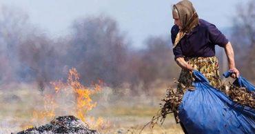 Гражданам, сжигающим сухую листву, грозят крупные штрафы