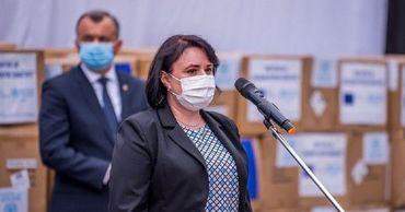 Министр здравоохранения Виорика Думбрэвяну.