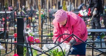 Доступ на территорию кладбищ будет разрешен только при обязательном ношении защитных масок.