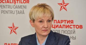 Депутат ПСРМ Адела Рэйляну.