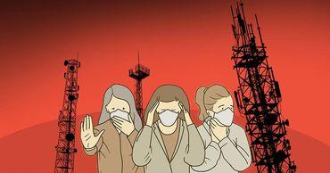 Жители Британии сожгли несколько вышек 5G из-за слухов.