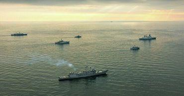 На Украине объяснили присутствие кораблей НАТО в Черном море.