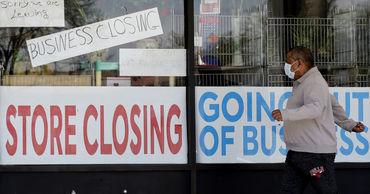 С начала пандемии в США закрылись 400 тысяч предприятий малого бизнеса.