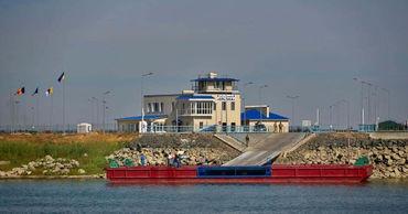 На границе Украины и Румынии начнёт функционировать паромная переправа через реку Дунай.