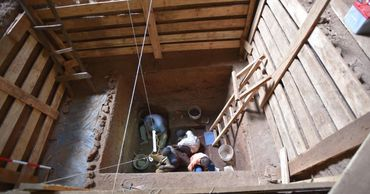 Ученые нашли древнейшее человеческое захоронение в Африке.