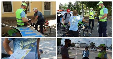 Операция «Внимание: велосипедист!» проходит в Тирасполе. Фото: novostipmr.com.