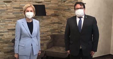 Башкан Гагаузии встретилась с главой делегации ЕС в Молдове.