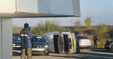 Еще один рейсовый автобус с пассажирами попал в ДТП