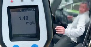 В Унгенах водитель в четвертый раз попался пьяным за рулем. Коллаж: Point.md