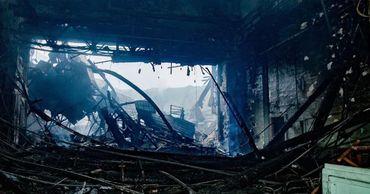 В ГИЧС назвали основную причину пожара в Национальной филармонии.