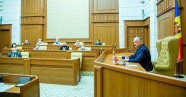 Додон провел первое заседание Комиссии по конституционной реформе.