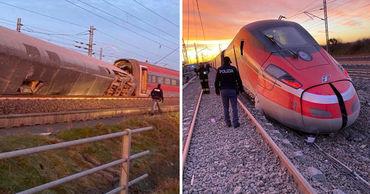 В Италии сошел с рельсов скоростной поезд. Погибли два человека, еще 30 пострадали.