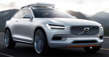 Volvo выпустит новый кроссовер XC100.