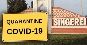 Власти Сынжерей ввели в городе режим карантина. Фото: Point.md