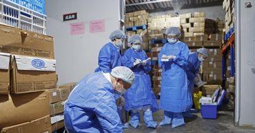 В Китае обнаружили коронавирус на упаковке замороженных продуктов.