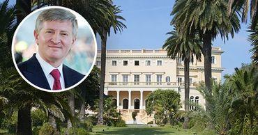 Украинский миллиардер Ахметов купил королевскую виллу во Франции.
