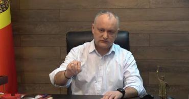 Экс-президент Игорь Додон.