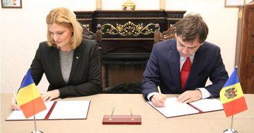 Молдова и Румыния подписали дорожную карту по областям сотрудничества.