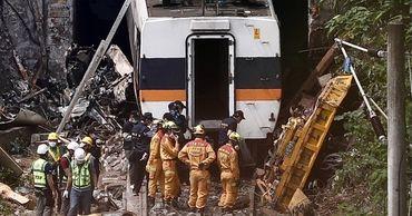Эта авария стала крупнейшей на Тайване железнодорожной катастрофой за последние 73 года.