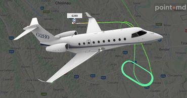 У частного самолета возникли сложности при посадке в аэропорту Кишинева.