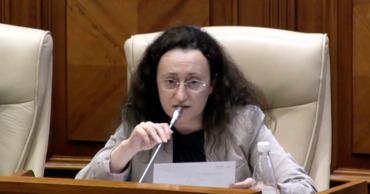 Депутат платформы DA Инга Григориу.