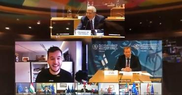 Журналист подключился к секретной видеоконференции министров обороны стран ЕС.