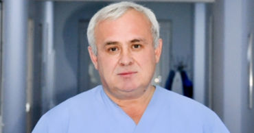 "Директор Центра COVID-19 Кишинева, директор Больницы ""Sfânta Treime"" Олег Круду."